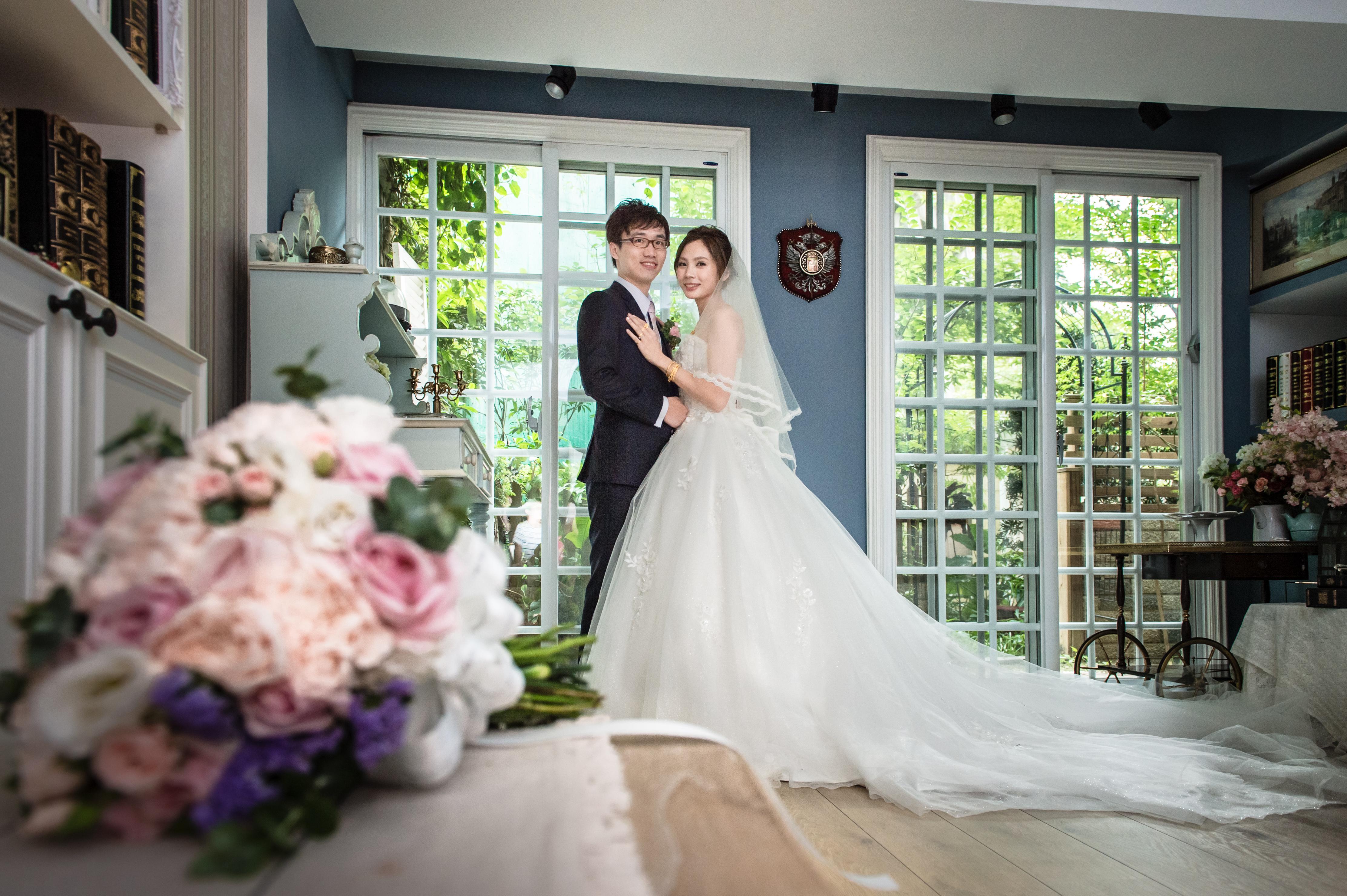 |台北婚攝| 小鍾&小魚  婚禮紀錄|民生晶宴會館