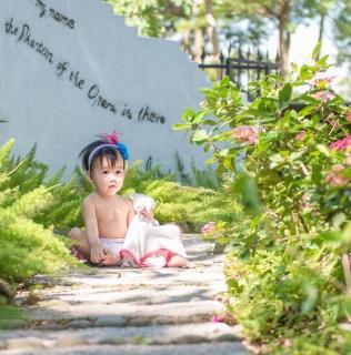 |兒童寫真| 妞妞 |河岸童話森林
