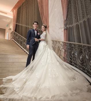 |台北婚攝| 大口&小望 婚禮紀錄| 新莊晶宴會館