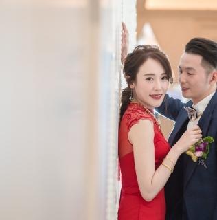 台北婚攝  禹傑&宛詩 婚禮紀錄  新莊典華會館
