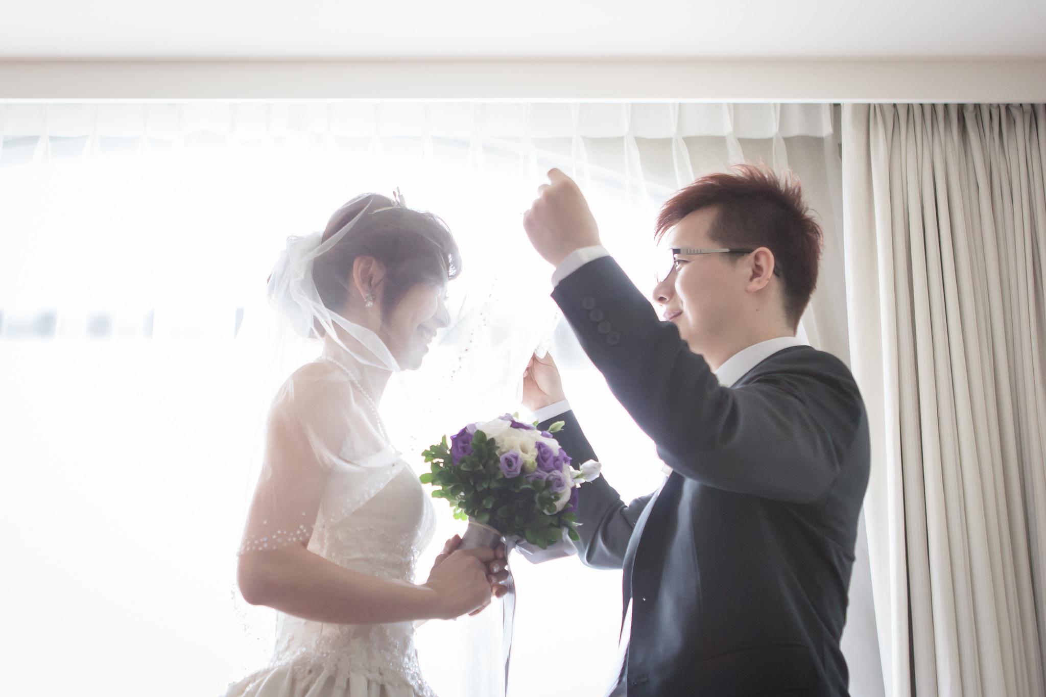 |台北婚攝| Mark&Christine 婚禮紀錄|維多麗亞酒店
