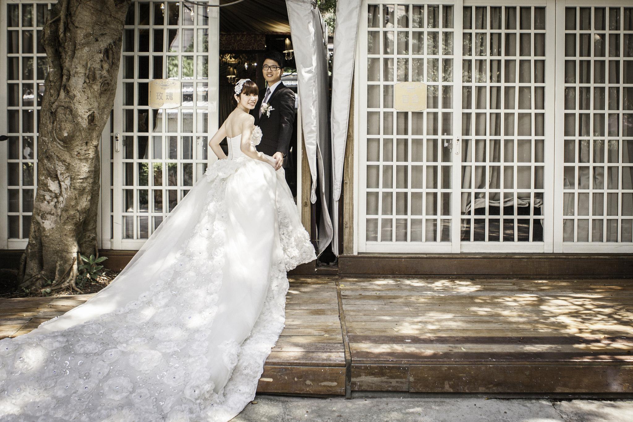 |台北婚攝| Ken&Ruby 婚禮紀錄|青青花園會館